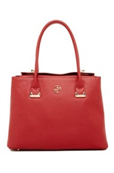 Segolene En Cuir Abella Leather Handbag Red