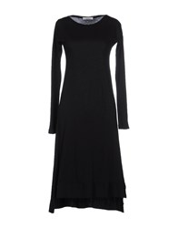 Alpha Massimo Rebecchi Dresses Knee Length Dresses Women Black