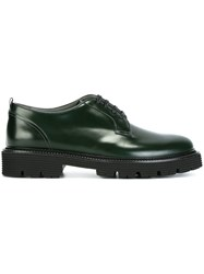 Msgm Lace Up Shoes Green