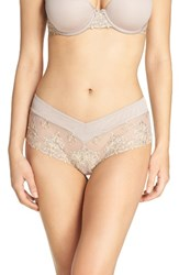 Chantelle Women's Intimates Champs Elysees Hipster Panty Mineral Grey Yellow