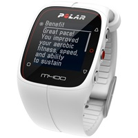 Polar M400 Gps Sports Watch With Heart Rate Sensor White