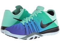 Nike Free Tr 6 Spectrum Green Glow Black Glacier Blue Women's Cross Training Shoes Green Glow Black Glacier Blue