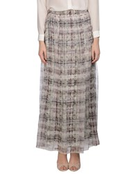 Theyskens' Theory Skirts Long Skirts Women Ivory