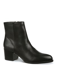 Sam Edelman Joey Mid Heel Booties Black