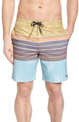 Billabong Stringer Lo Tides Board Shorts Mustard