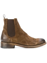 The Last Conspiracy Distressed Ankle Boots Brown