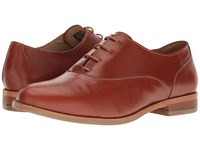 Wolverine Jude Oxford Tan Leather Women's Lace Up Casual Shoes