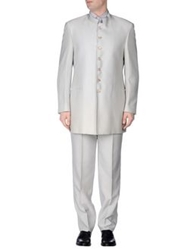 Tiziano Reali Suits Light Grey