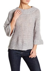 Valette Chunky Knit Sweater Gray