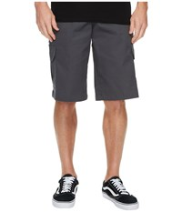 Dickies 13 Relaxed Fit Mechanical Stretch Cargo Shorts Charcoal Gray