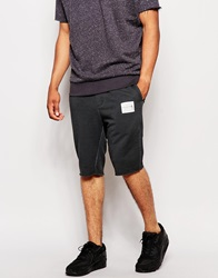 Religion Oil Wash Jersey Shorts Washedblack