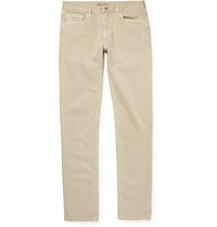 Loro Piana Slim Fit Denim Jeans Neutrals