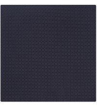 Armani Collezioni Tonal Diamond Silk Blend Pocket Square Navy