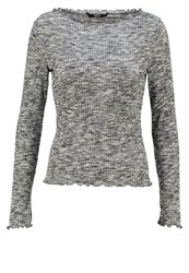 Only Onlmaddi Long Sleeved Top Black