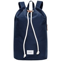 Sandqvist Evert Drawstring Bucket Backpack Blue