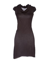 Phard Short Dresses Dark Brown