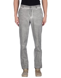 Master Coat Casual Pants Grey
