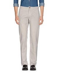 Henry Cotton's Casual Pants Light Grey