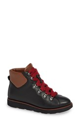 Bionica Natick Lace Up Boot Black Leather