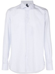Orian Slim Fit Button Shirt White