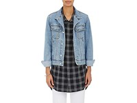 Andersson Bell Women's Smith Studded Denim Jacket Blue