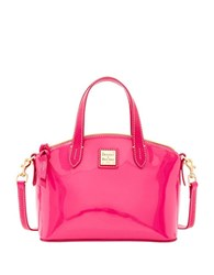 Dooney And Bourke Ruby Patent Leather Satchel