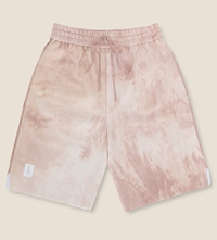 Pigalle Drawstring Waist Tie Dyed Shorts Pink