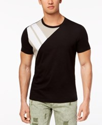 Inc International Concepts I.N.C. Men's Pieced Park T Shirt Created For Macy's Deep Black