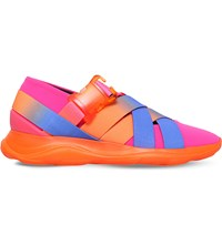 Christopher Kane Strapped Flexible Ballerina Trainers Pink