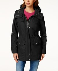 Bar Iii Hooded Anorak Only At Macy's Black