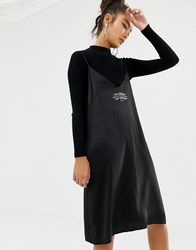 Cheap Monday Rite Logo Cami Dress With Recycled Polyester Black