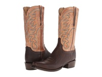 Lucchese Hl1511.73 Jurassic Brown Tan Burnished Cowboy Boots