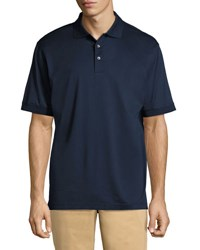 Bobby Jones Mercerized Cotton Polo Shirt Navy