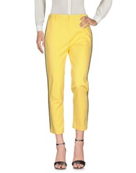 Myths Casual Pants Yellow