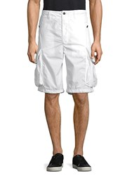 Psycho Bunny Happiness Cargo Shorts White