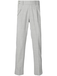 Entre Amis Classic Tailored Trousers Grey