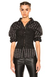 Isabel Marant Pryam Corset In Black