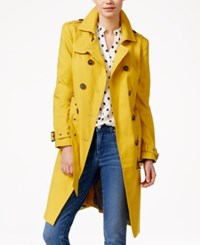 Maison Jules Double Breasted Trench Coat Only At Macy's Banana Leaf