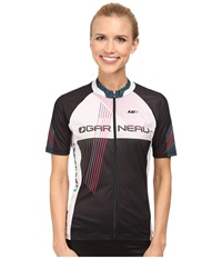 Louis Garneau Equipe Gt Series Jersey Black White Women's Workout