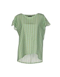 Laura Urbinati Shirts Blouses Women Light Green