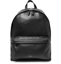 Givenchy Grained Leather Backpack Black