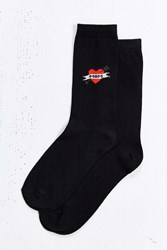 Urban Outfitters I Heart Mom Sock Black