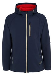 O'neill Exile Soft Shell Jacket Ink Blue Dark Blue