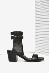 Nasty Gal Finders Keepers Cuffed Leather Sandal