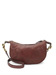Frye Campus Small Rivet Crossbody Black Cherry