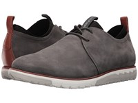 Hush Puppies Performance Expert Dark Grey Nubuck Lace Up Casual Shoes Brown