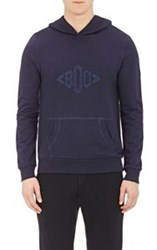 Band Of Outsiders Monogrammed Hoodie Multi Size 0 Xs