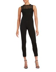 French Connection Chelsea Beau Sleeveless Jumpsuit Black