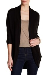 Heather By Bordeaux Cocoon Cardigan Black