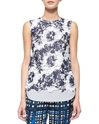Thakoon Addition Sleeveless Lace Front Tank